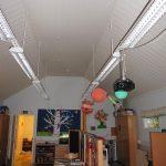 Koulussa tehtiin talven ja kevään aikana useita projekteja