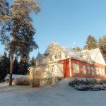 Itsenäisyyspäivänä sää oli talvinen ja kaunis.